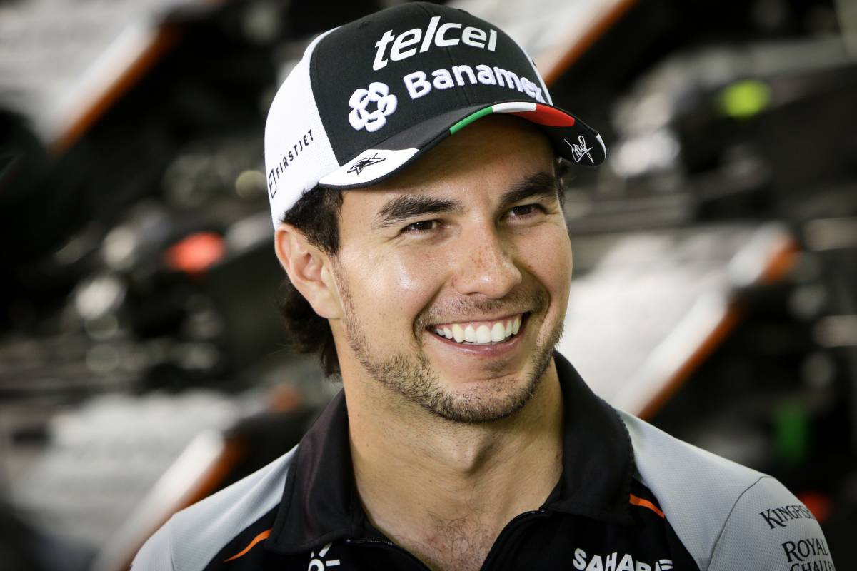 Sergio Pérez, piloto de Force India