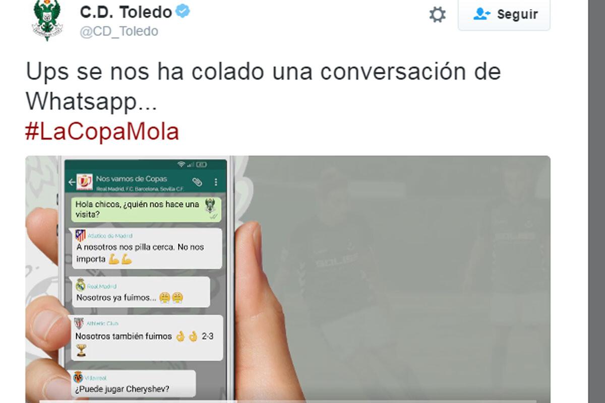 Toledo, en la Copa del Rey