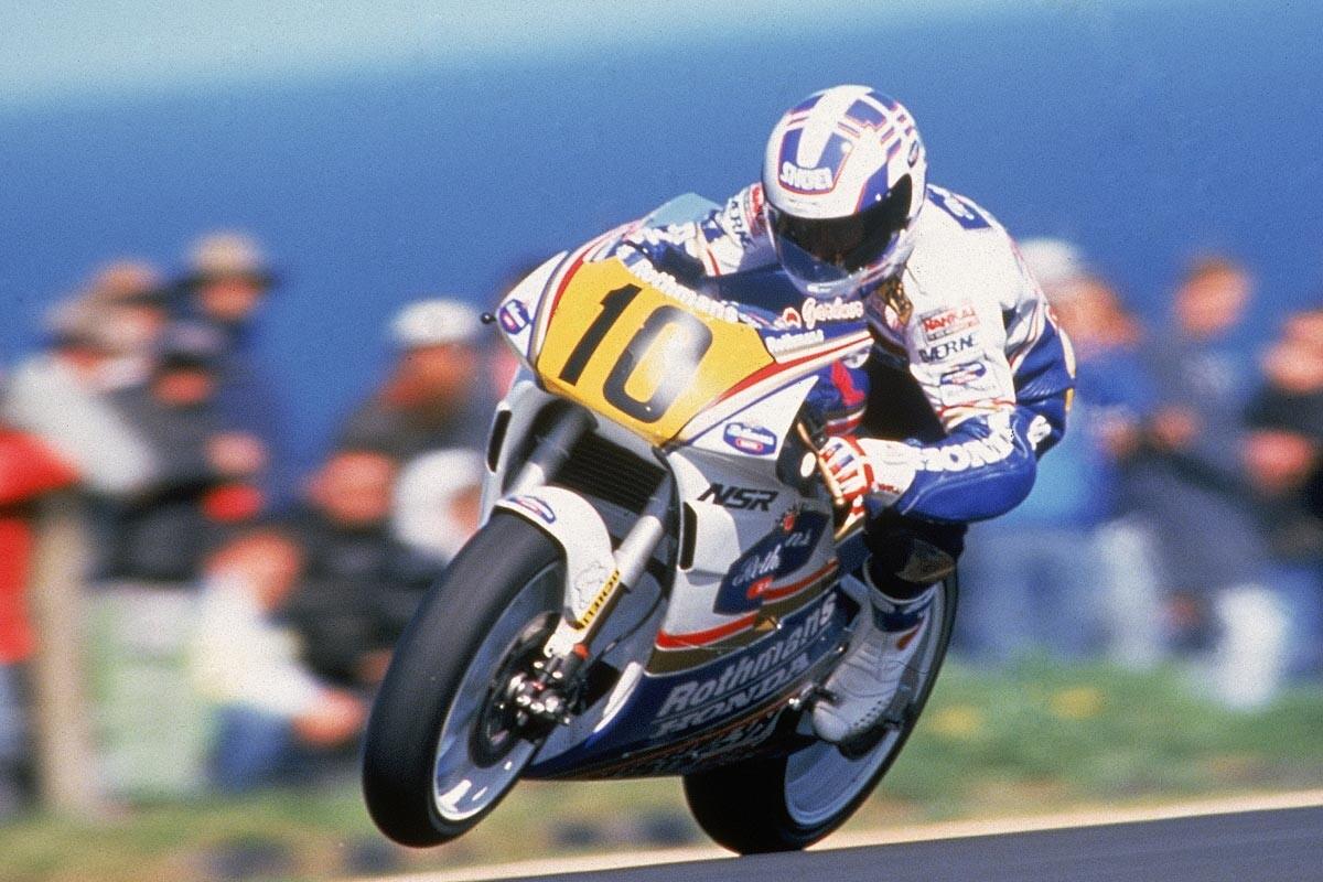 Wayne Gardner, campeón del mundo de 500cc en 1987
