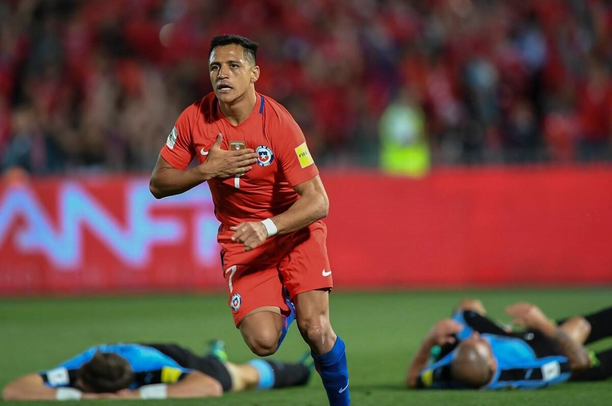 Chile venció a Uruguay en Santiago