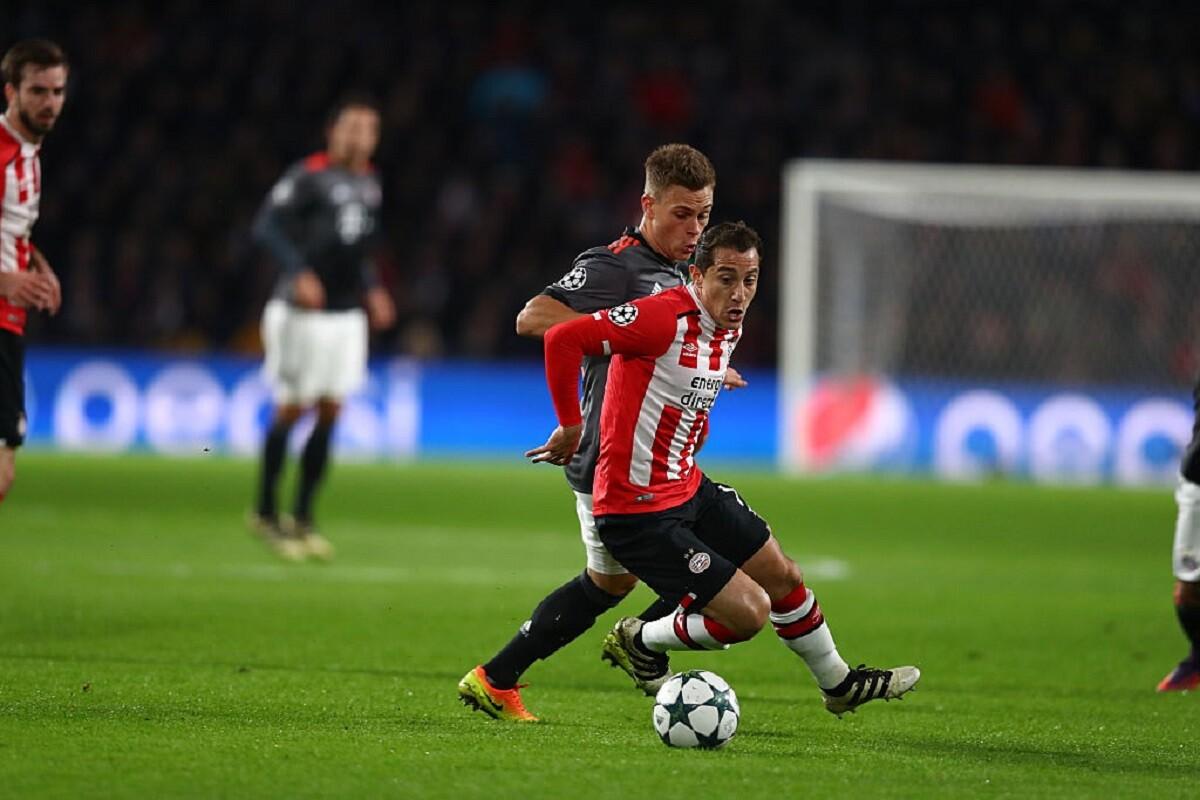 Guardado habló del encuentro entre PSV y Atlético de Madrid