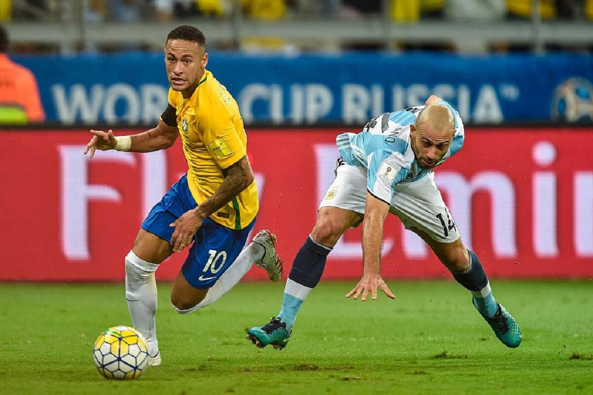 Brasil goleó a Argentina en Belo Horizonte