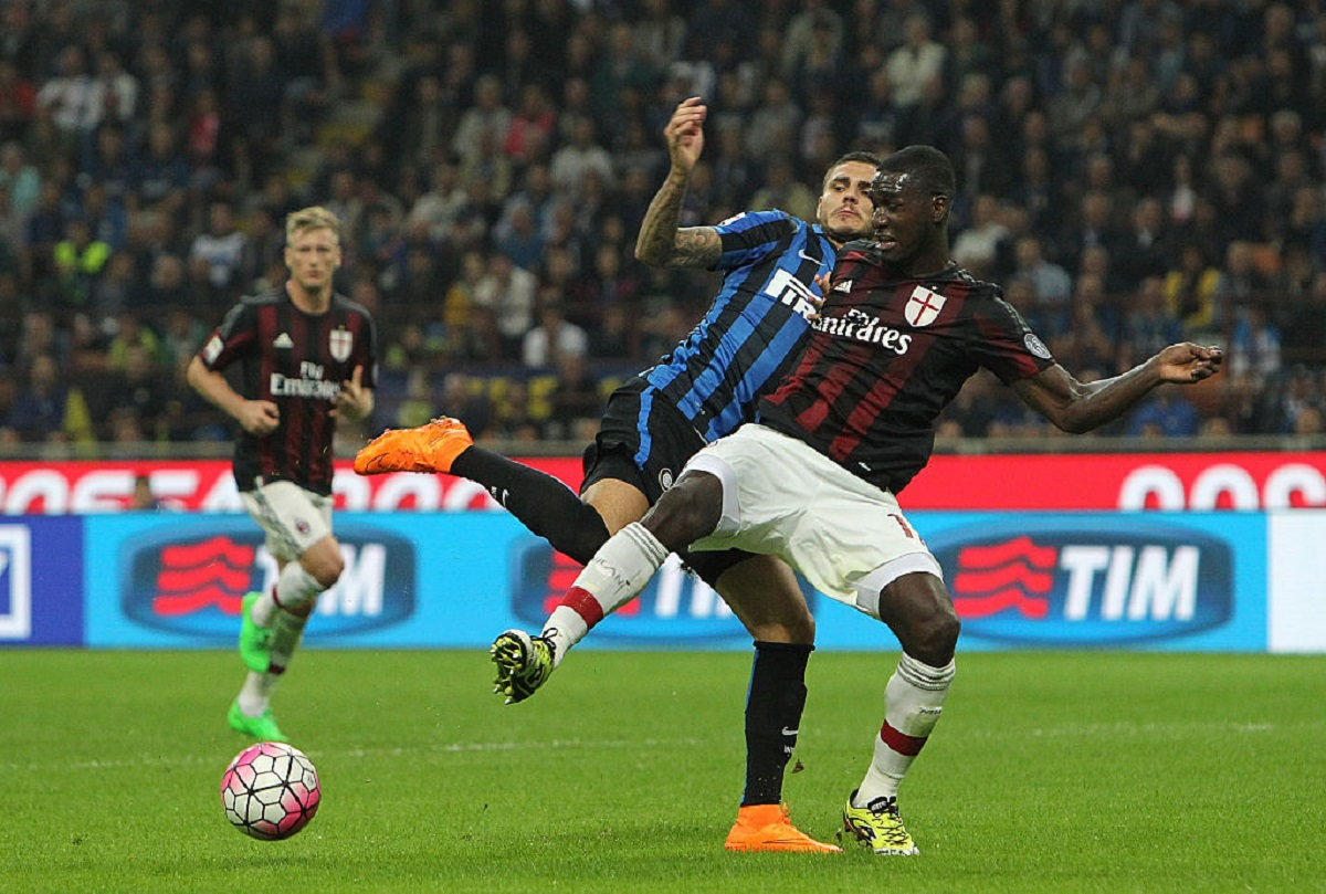 Cristian Zpata reaparecería con el Milán ante el Inter