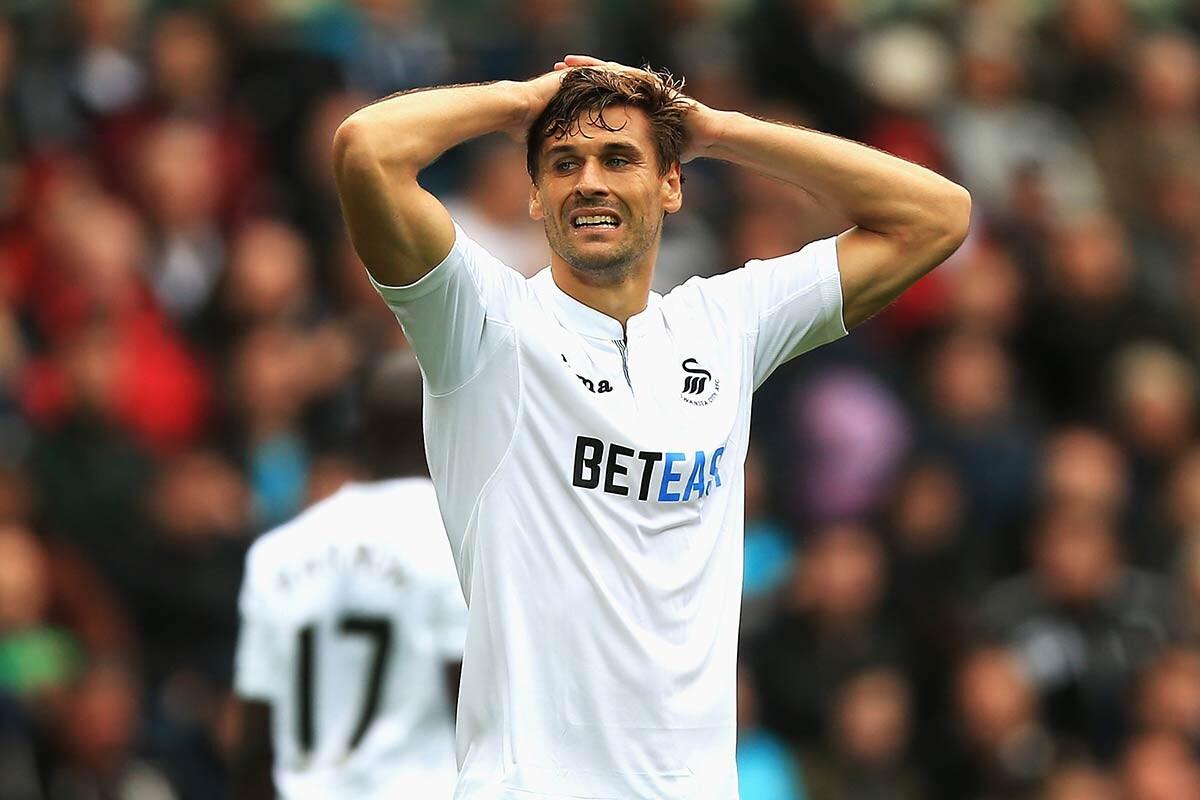Fernando Llorente, delantero del Swansea