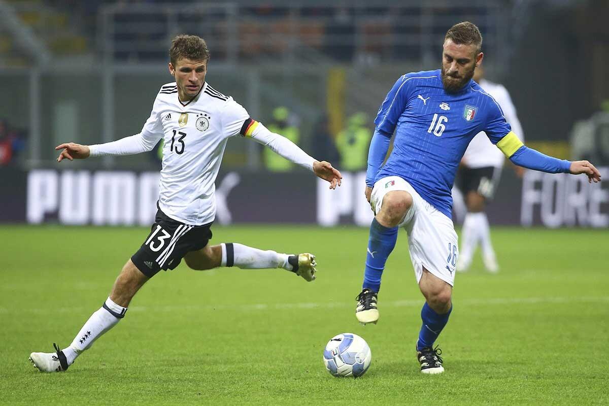 Müller y De Rossi