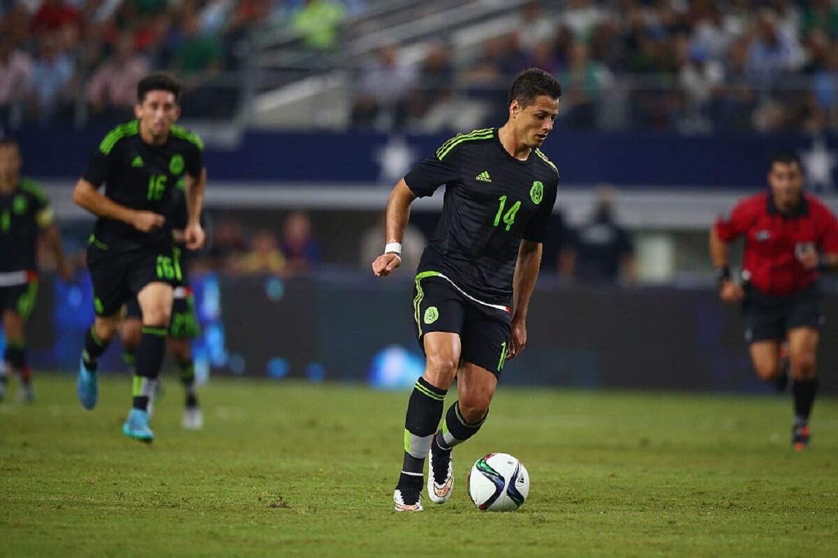 Chicharito es el segundo máximo goleador en la historia de la selección mexicana