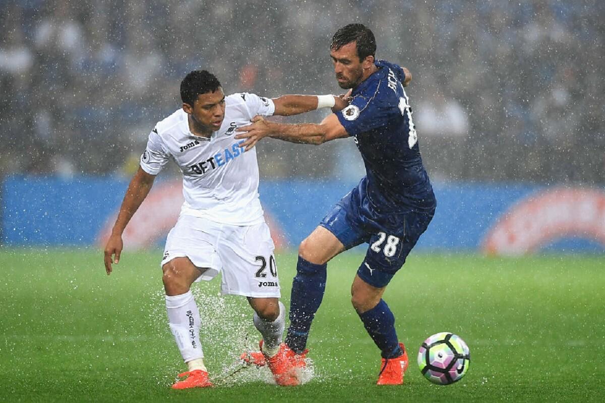 Montero sufrió una fractura con el Swansea
