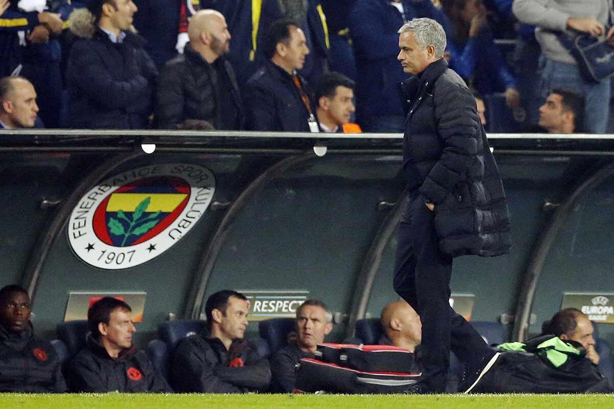 Jose Mourinho, entrenador del Manchester United