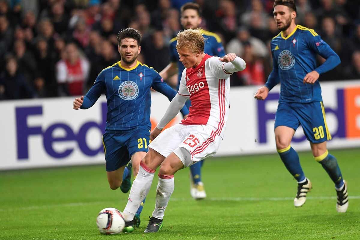 Kasper Dolberg, del Ajax