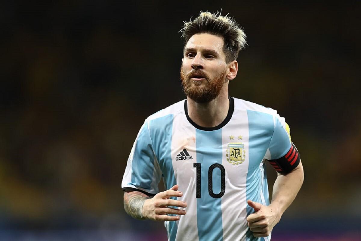 Leo Messi con Argentina en eliminatorias