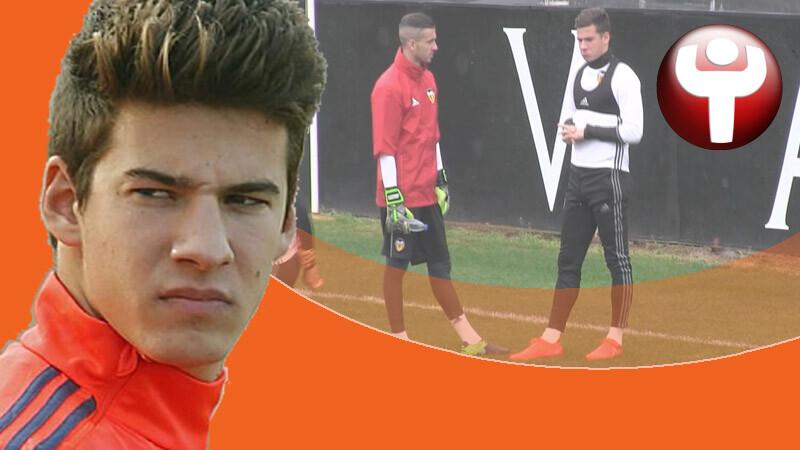 Santi Mina Valencia CF Jaume Doménech