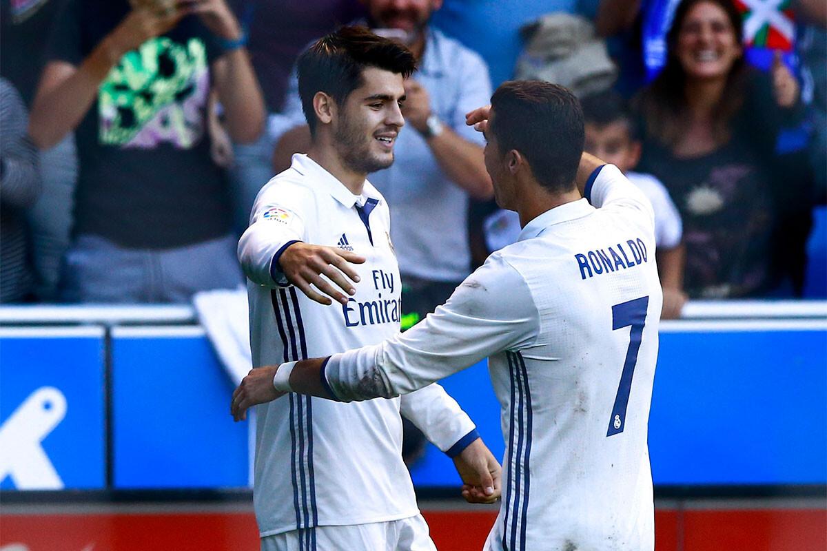 Álvaro Morata, Cristiano Ronaldo