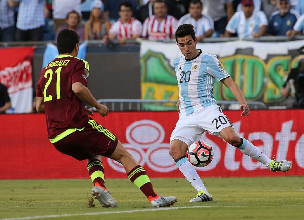 Gaitán lesionado no estará con Argentina