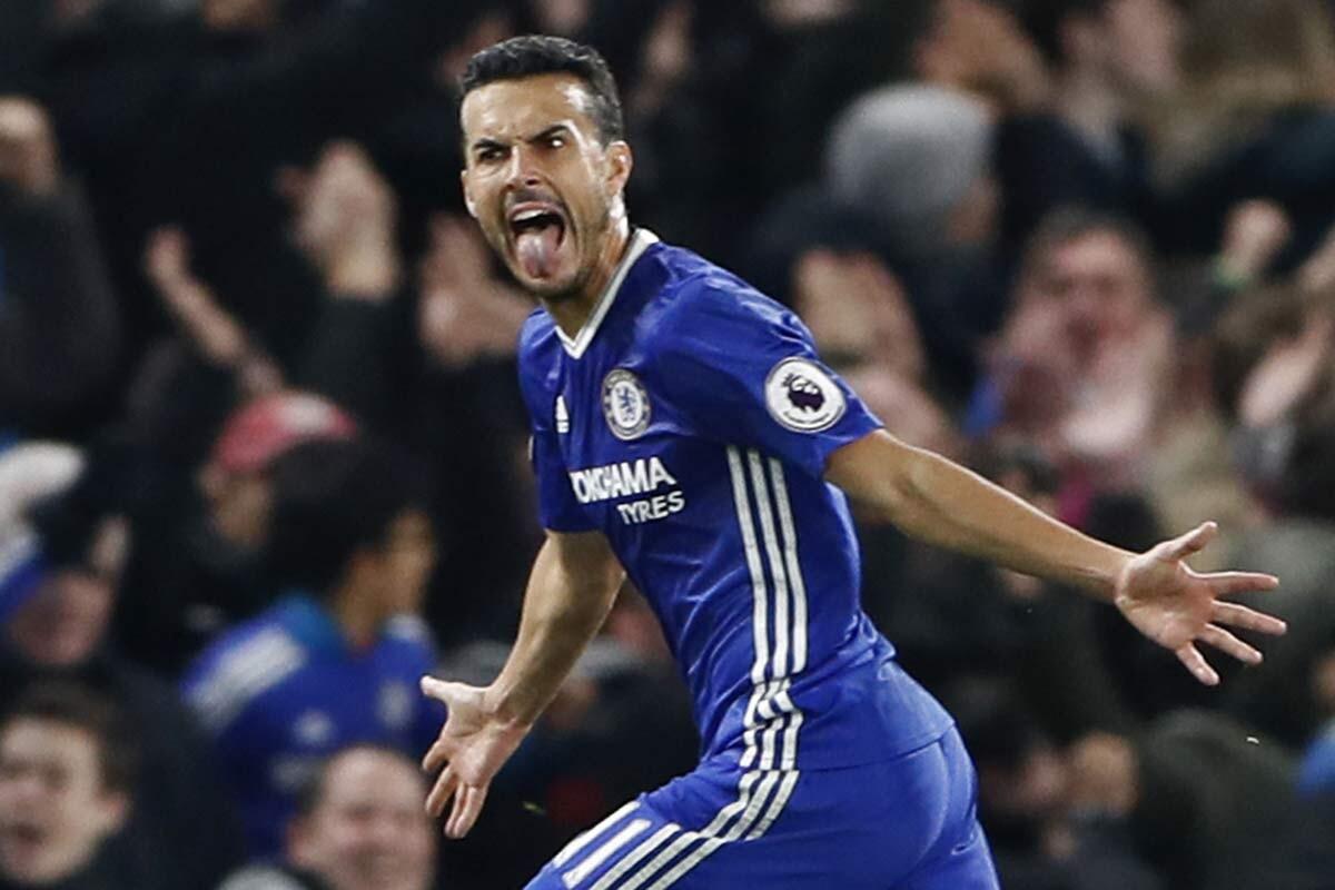 Pedro, del Chelsea