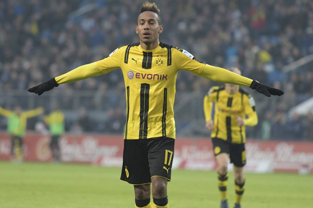 Pierre Emerick Aubameyang, del Dortmund
