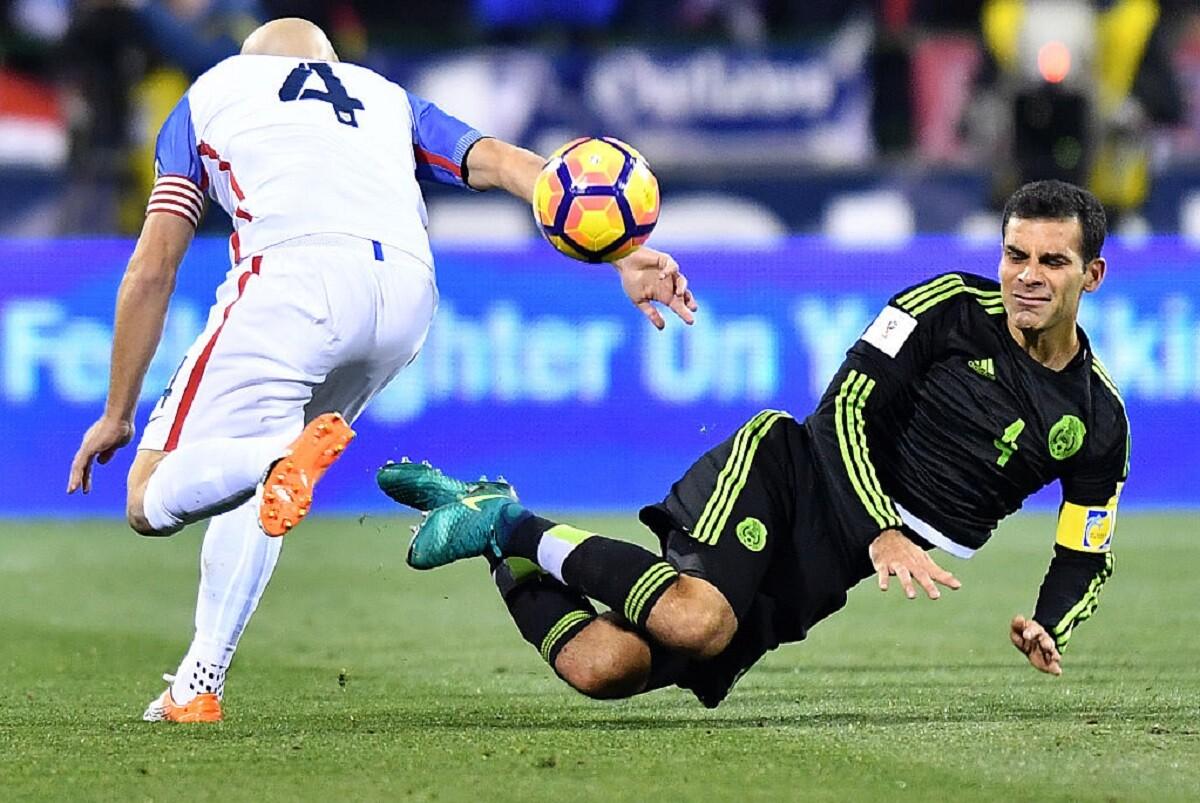 Rafa Márquez marcó el gol de la victoria de México ante Estados Unidos