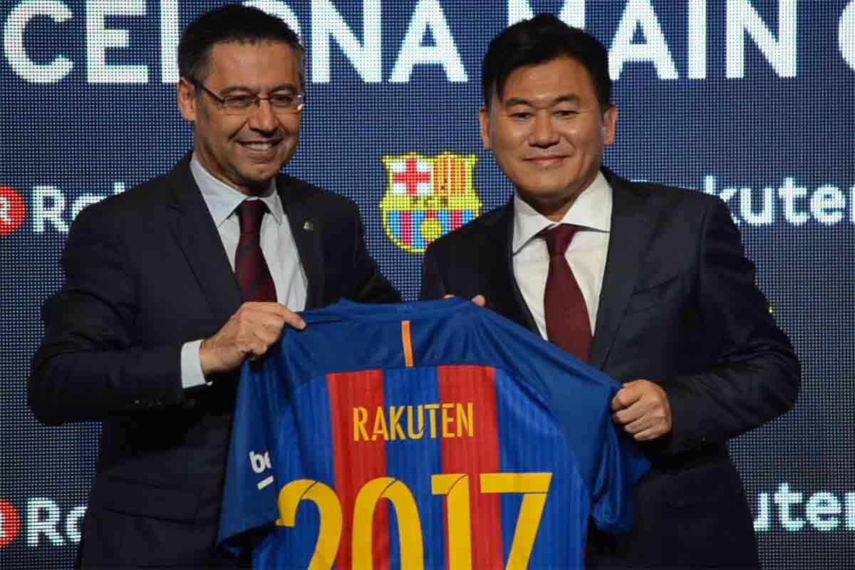 El Barça firma con Rakuten