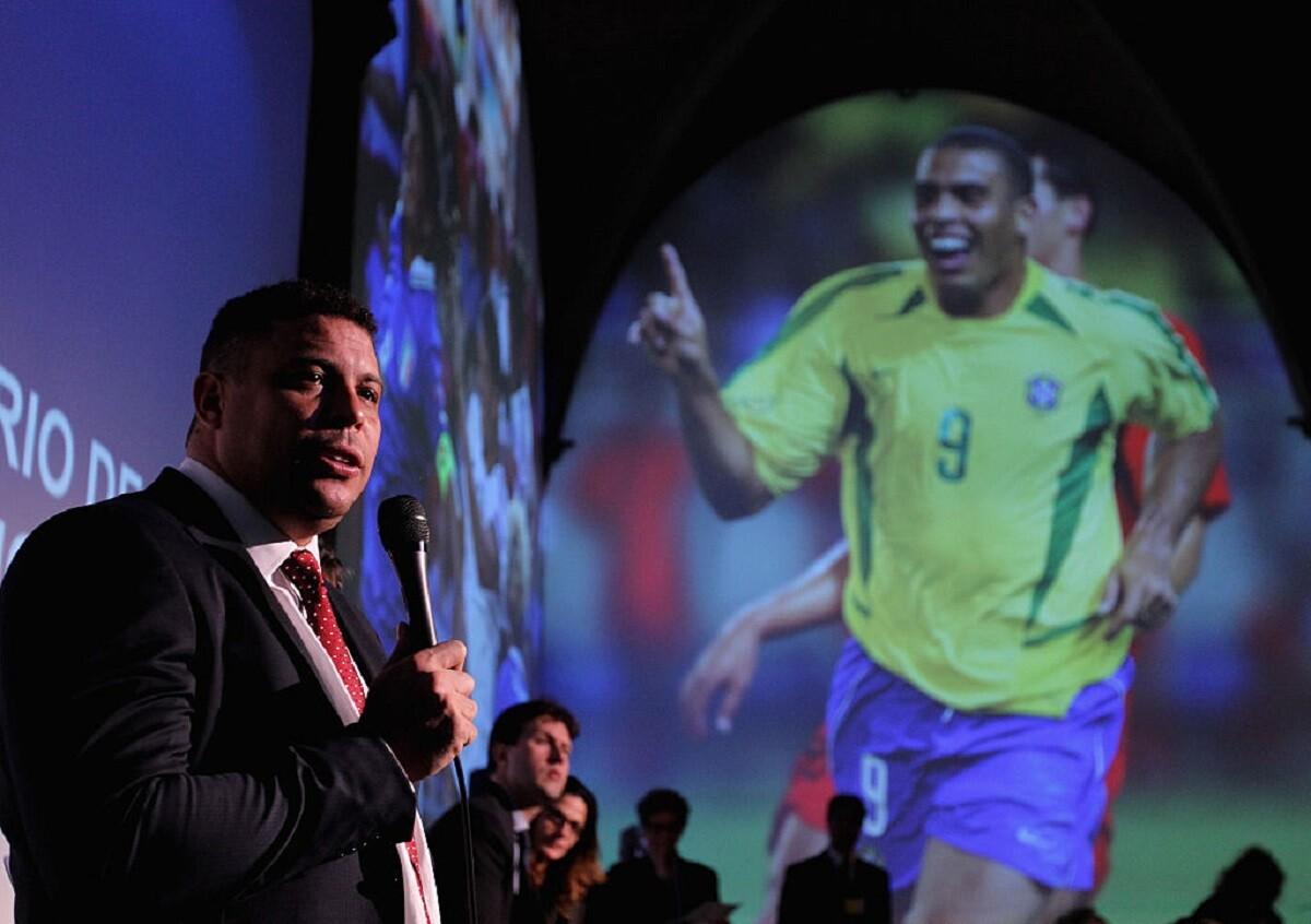 Ronaldo Nazario habló de James, de Falcao y la selección colombiana