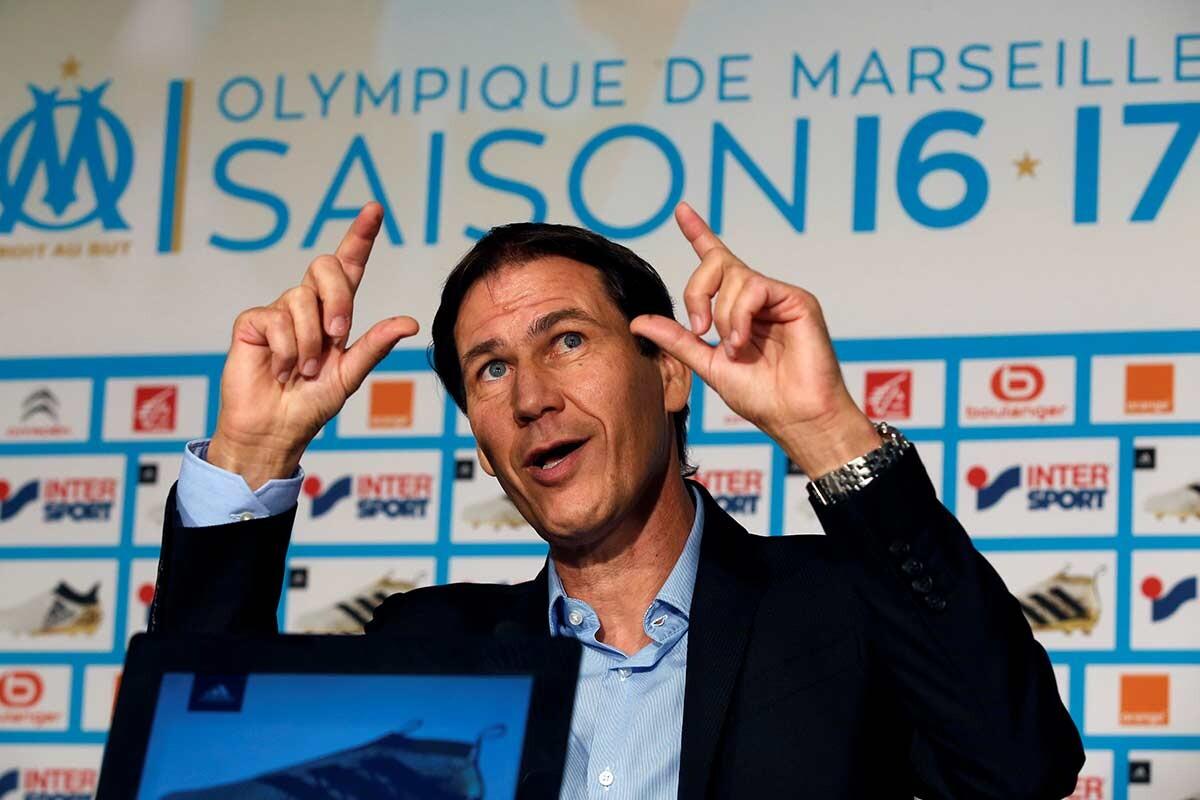 Rudi Garcia, nuevo entrenador del Olympique de Marsella