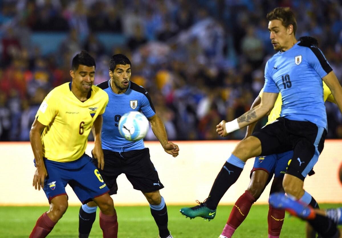 Uruguay venció a Ecuador