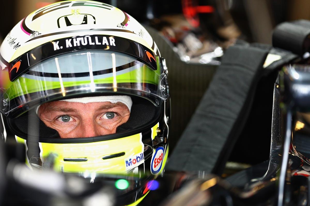 Jenson Button en Abu Dhabi