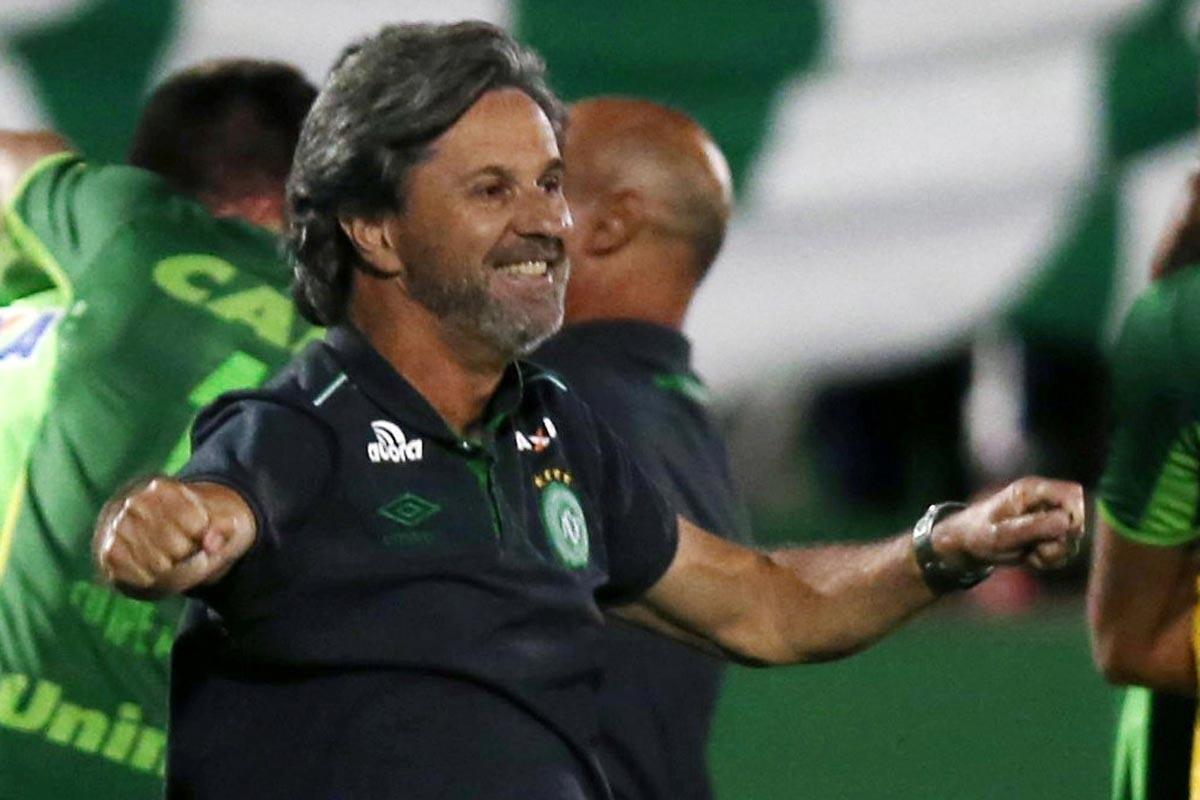 Caio Junior, entrenador de Chapecoense