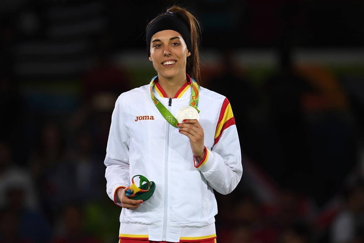 Eva Calvo, subcampeona olímpica