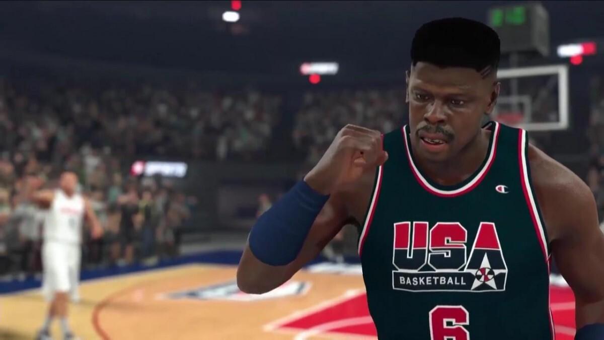Pat Ewing en el NBA2K17