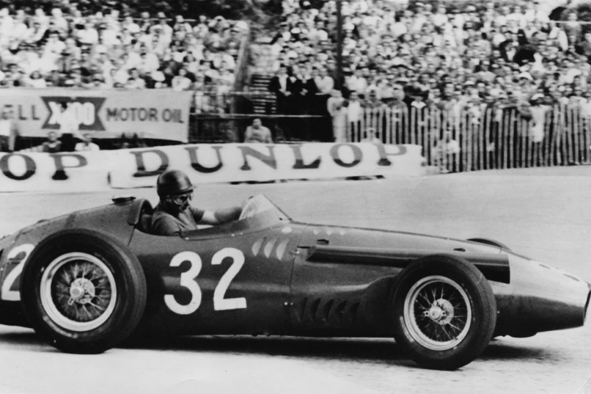 Juan Manuel Fangio, pentacampeón del mundo de F1