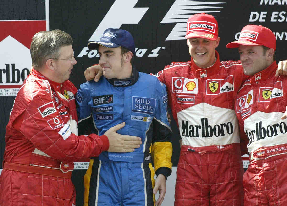 """Brawn sobre Alonso: """"Es frustrante verle en coches con tantos problemas"""""""
