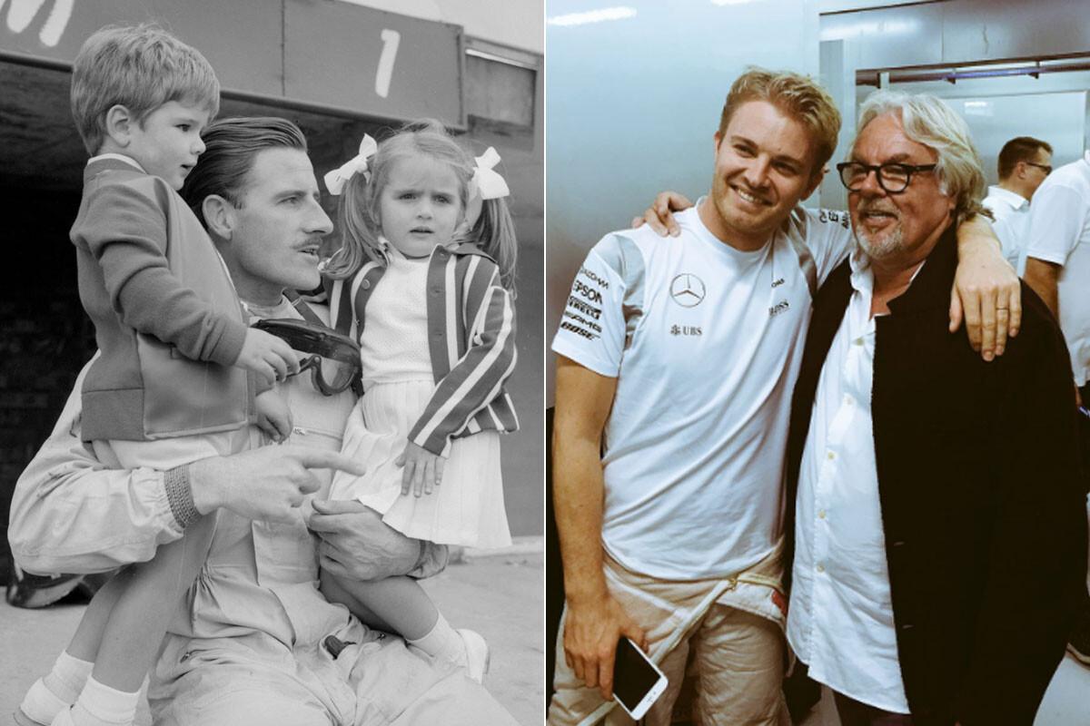 Familia Hill y familia Rosberg