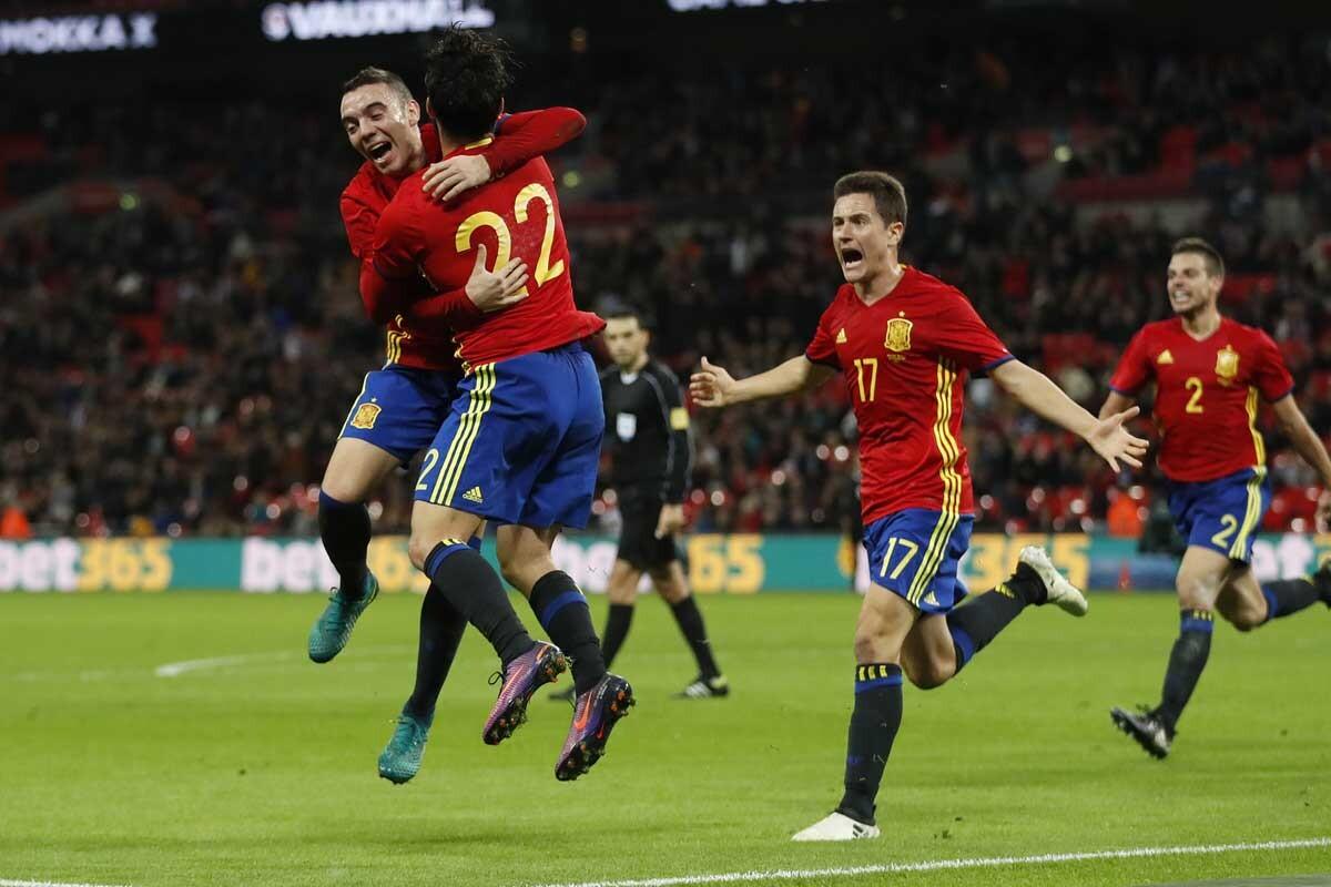 Inglaterra-España