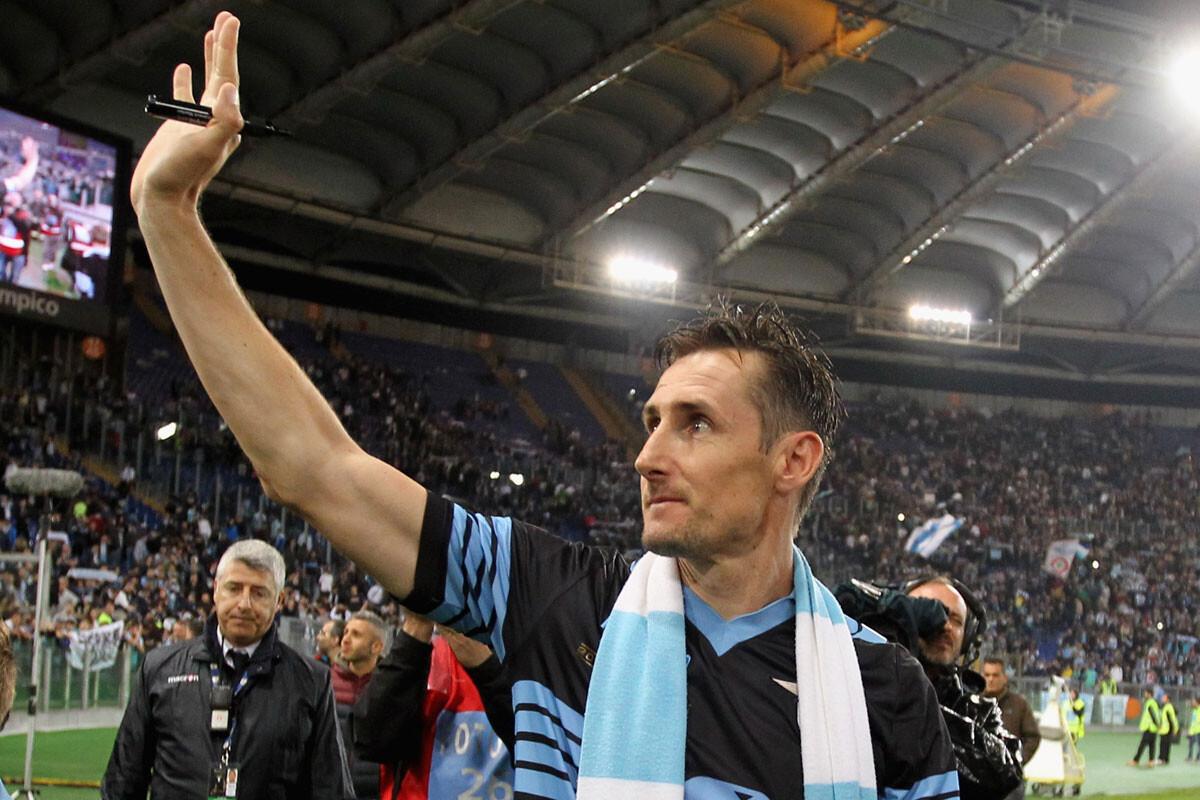 Miroslav Klose cuelga las botas
