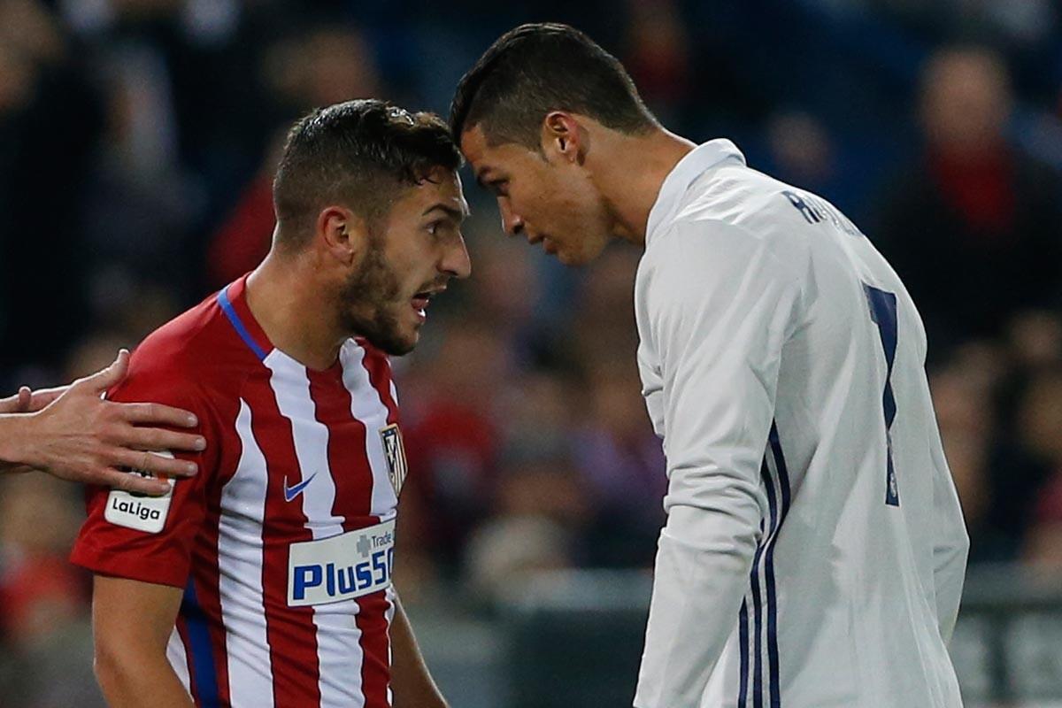Koke y Cristiano en el Calderón
