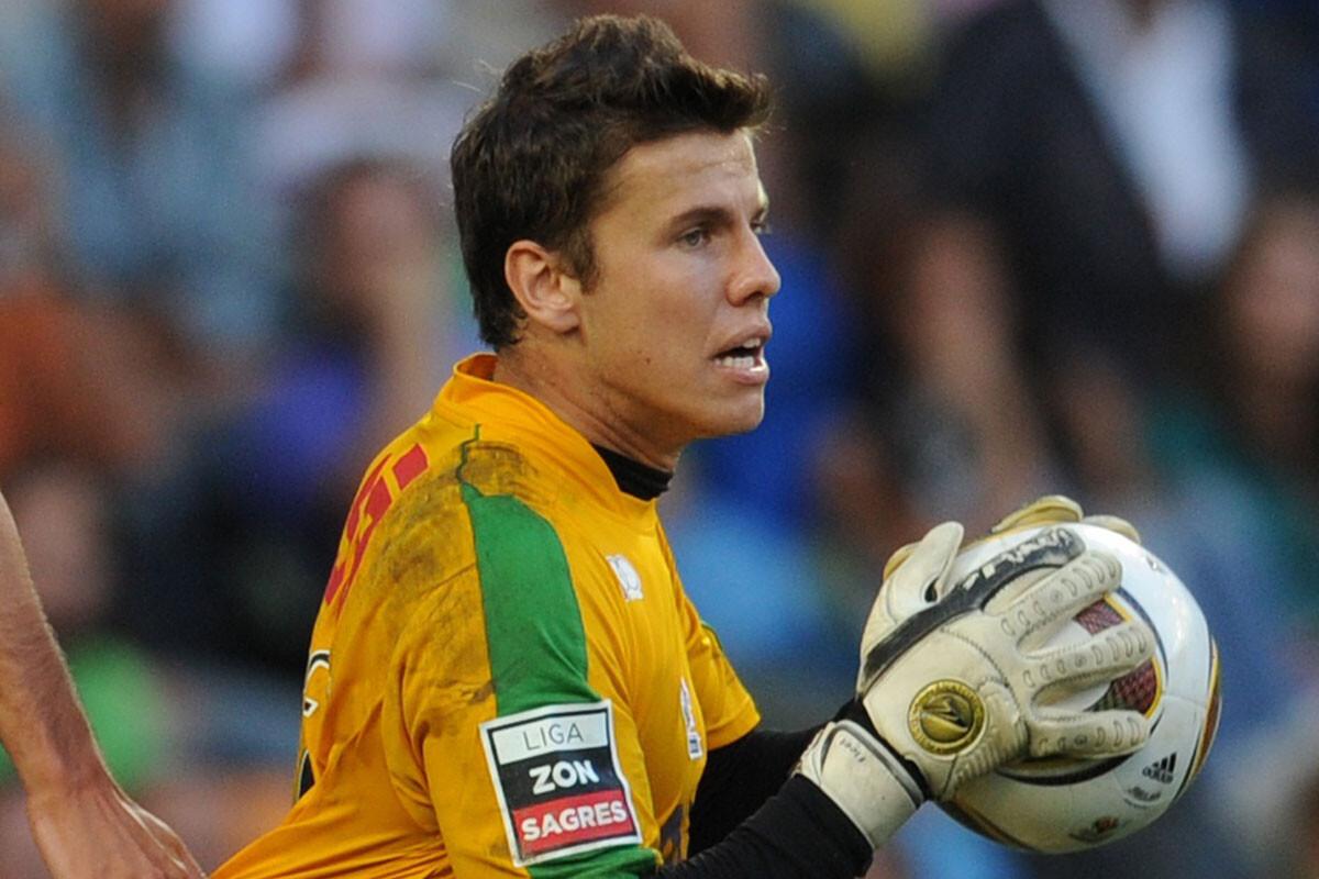 Marcelo Boeck, portero de Chapecoense