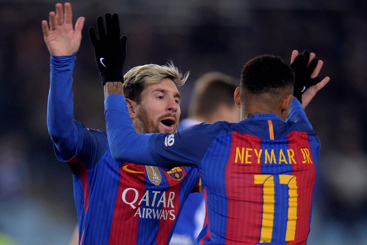 Messi, Suárez y Neymar pasan el antidoping