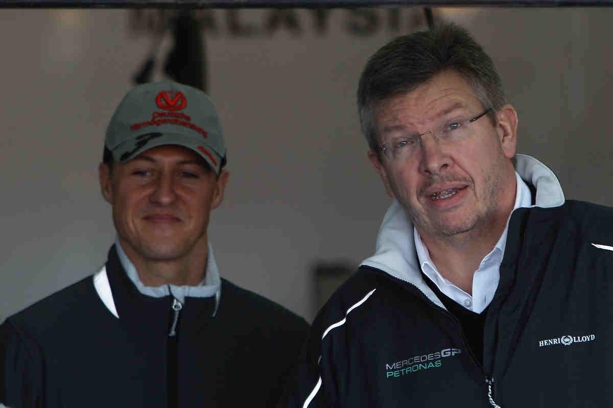"""Brawn sobre el estado de Schumacher: """"Hay signos prometedores"""""""