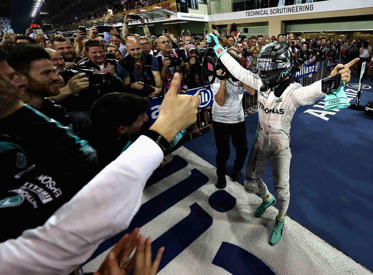Rosberg, muy orgulloso de haber podido emular a Keké