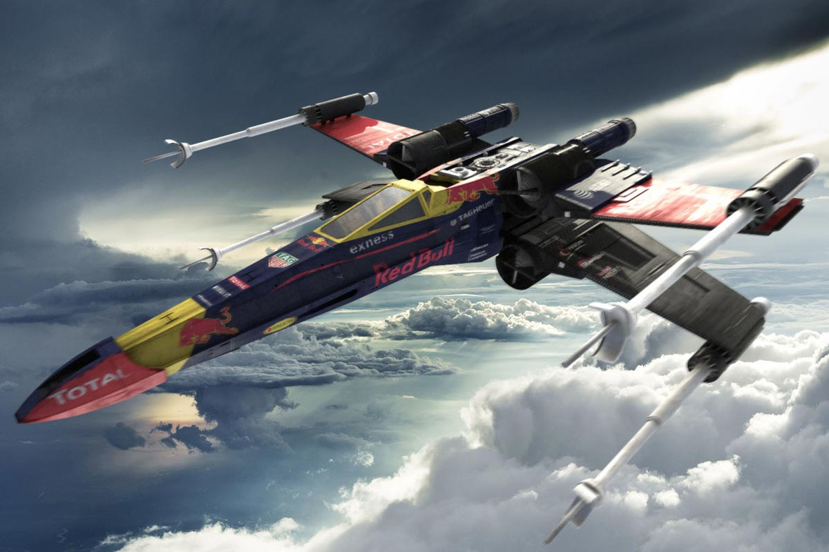 Red Bull de Star Wars