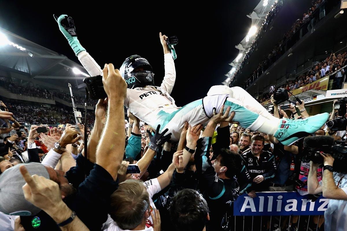 Nico Rosberg, campeón del mundo