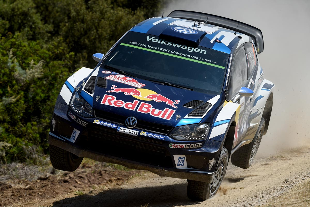 Sebastien Ogier con Volkswagen Polo R WRC