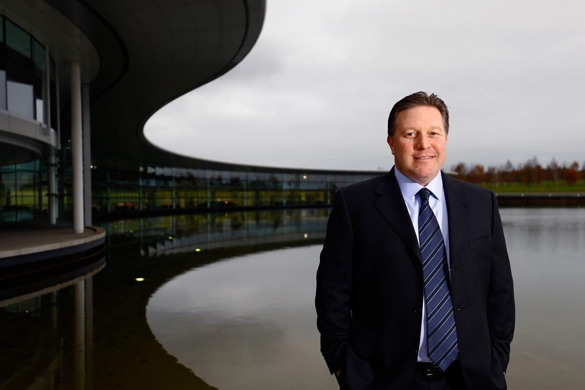 Zak Brown, nuevo CEO de McLaren