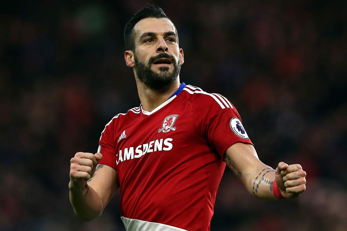 Alvaro Negredo, delantero del Middlesbrough