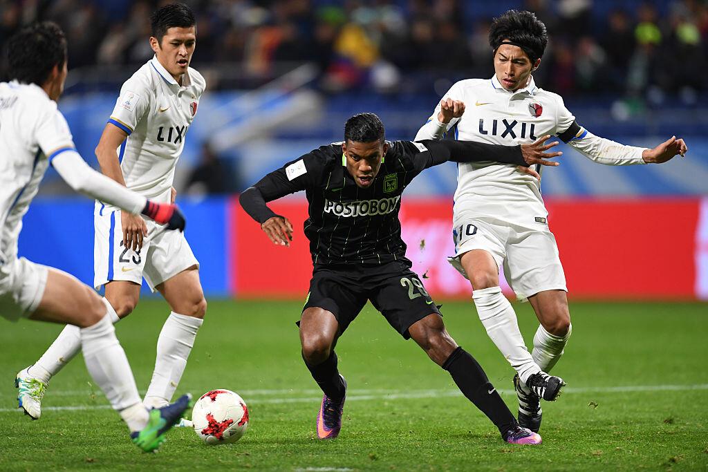 Kashima Antlers eliminó a Atlético Nacional