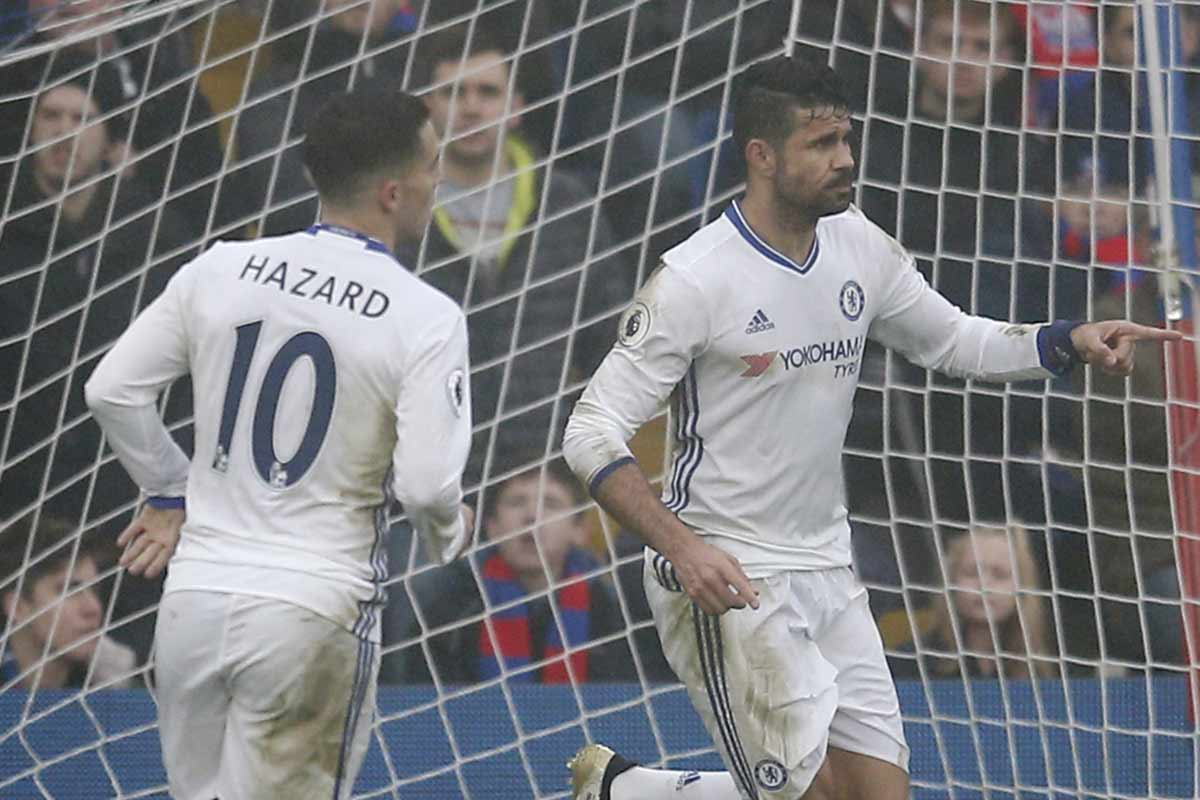 Diego Costa, delantero del Chelsea