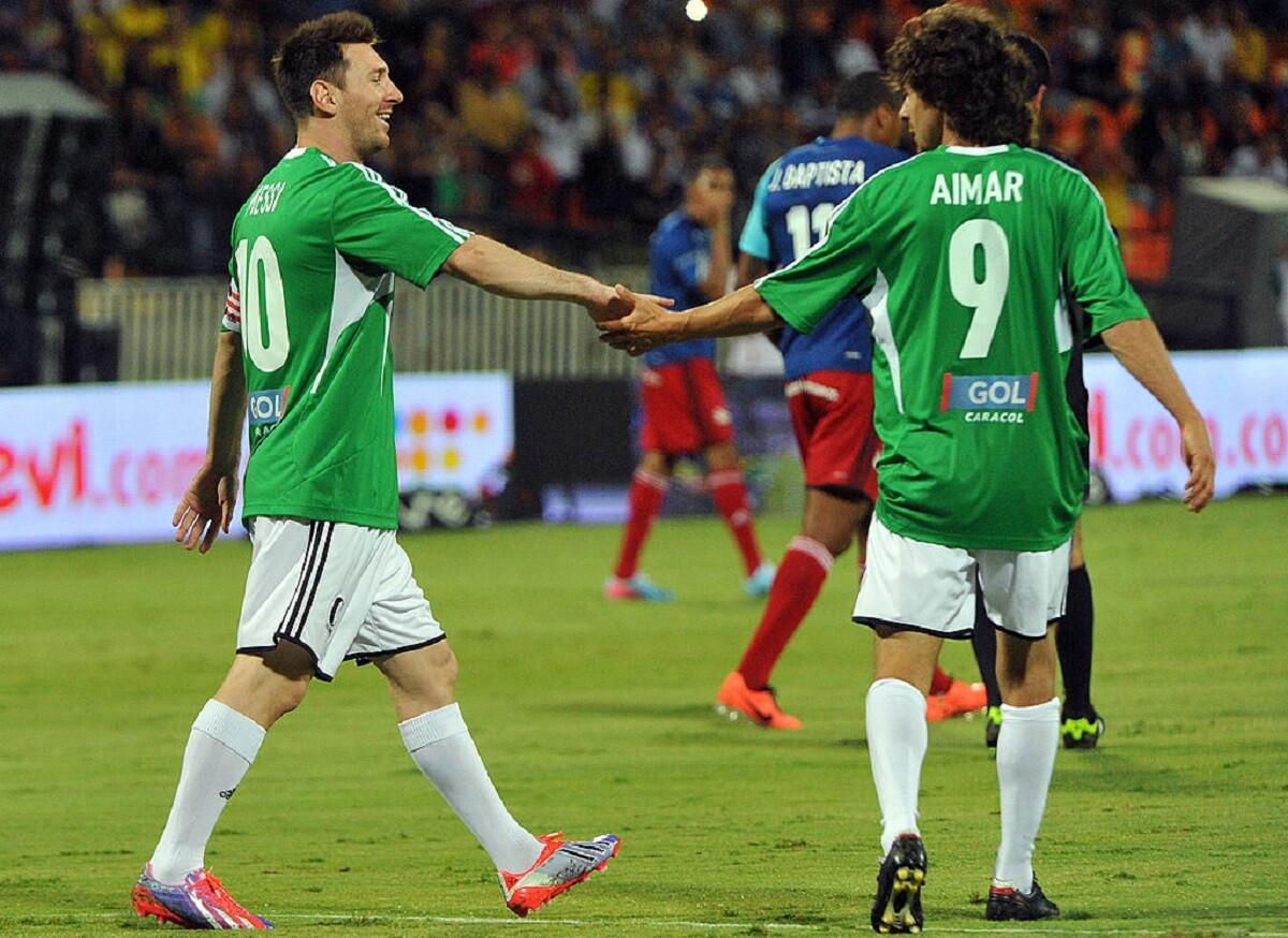 Arimar habló de Leo Messi