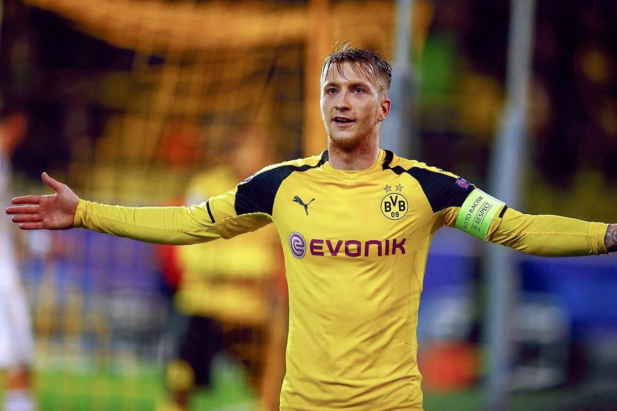 Marco Reus, delantero del Borussia Dortmund