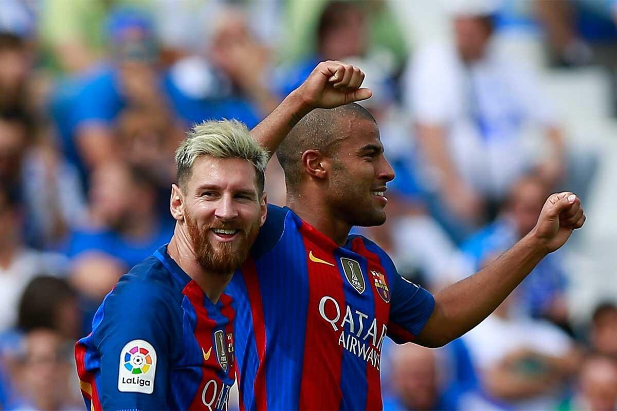 Leo Messi, Rafinha