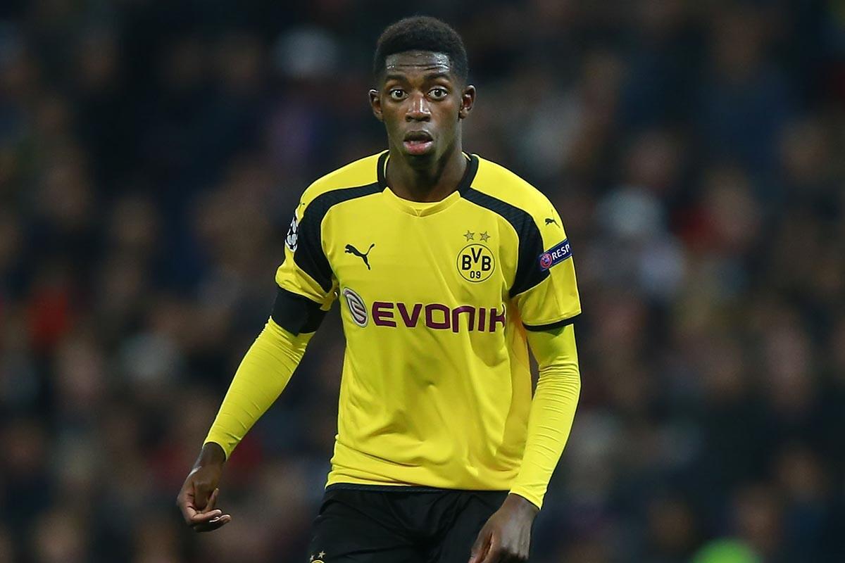Ousmane Dembele, del Borussia Dortmund