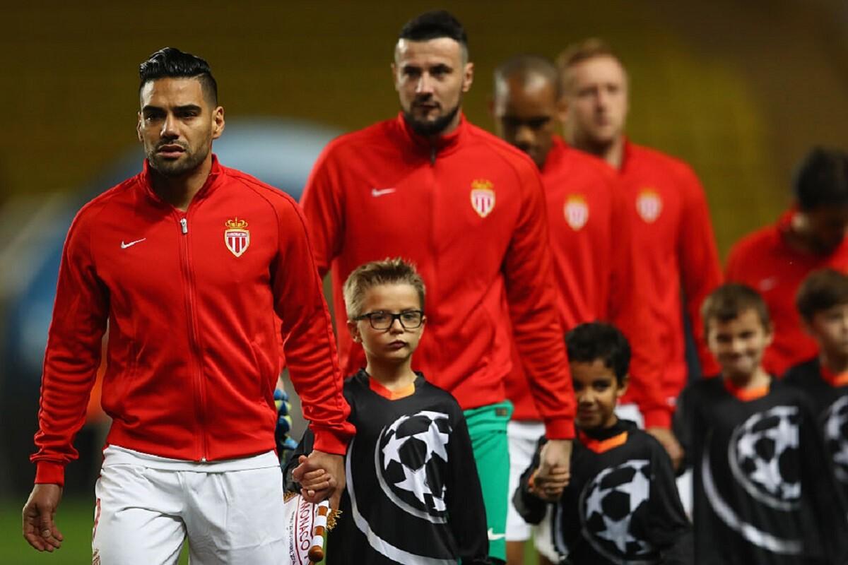 Falcao con el Mónaco en Champions League